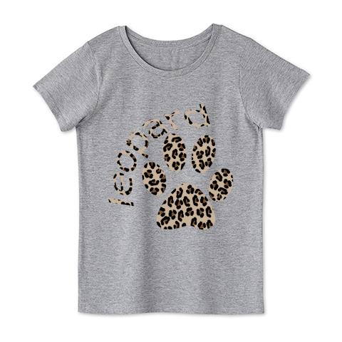 leopard柄肉球&ロゴ