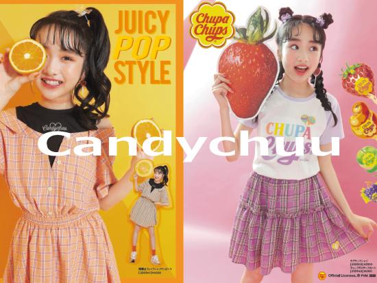 新子供服ブランド「キャンディチュウ(Candychuu)」♪