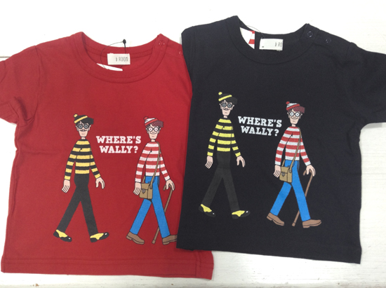 b.ROOM(ビールーム) × WALLY(ウォーリー)Tシャツ