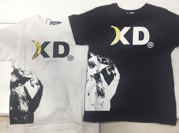 XD(エックスディー)の個性的Tシャツ!