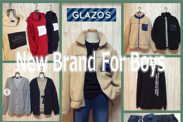 男の子向けの新しいブランド「GLAZOS(グラソス)」