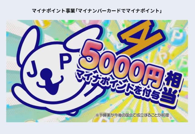 7月~申込!9月以降はマイナポイントで「25%(上限5,000円分)」がもらえます!