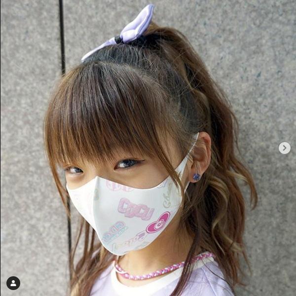 洗えるキャンディチュウ(Candychuu)のマスク