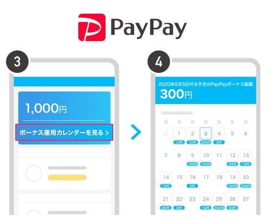 いつ、いくら「PayPay残高」が付与されるかの確認が可能になりました!