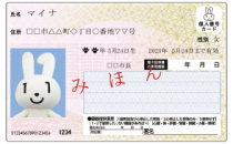 ①マイナンバーカード