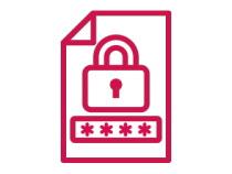②数字4桁のパスワード(暗証番号)