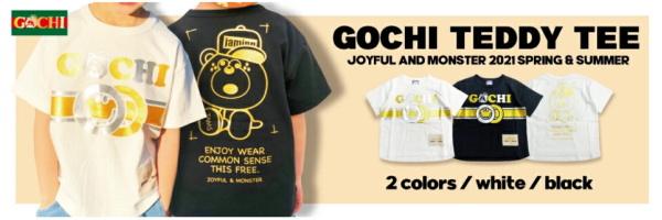 新しい「GOCHI TEE」も登場!